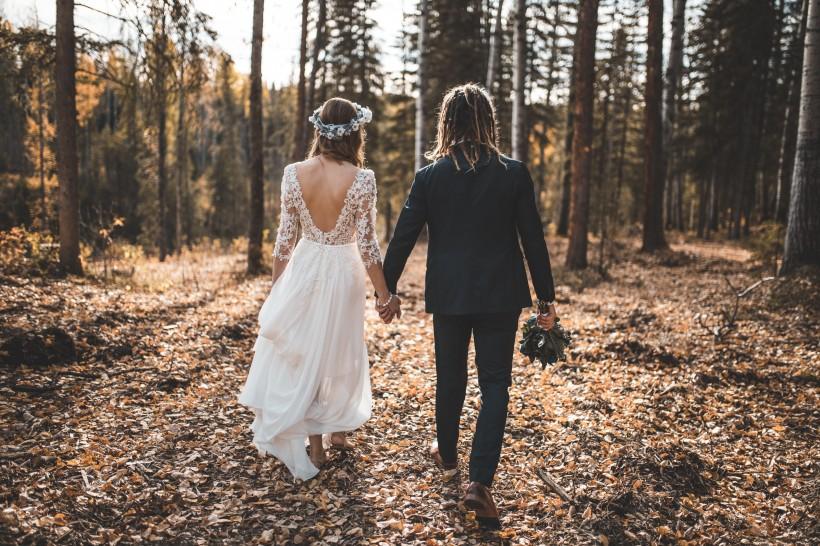 国外的新娘新郎图片(10张)