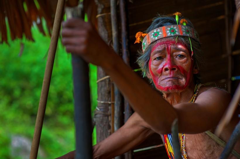 原始部落人图片(11张)