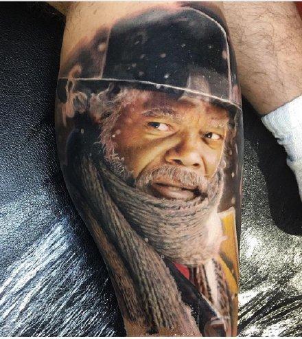 欧美超写实的9款肖像纹身作品图片
