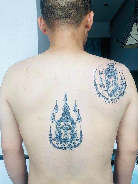 泰国刺符主题的9款纹身作品图片