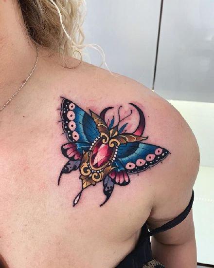 一组欧美的彩色纹身图案欣赏