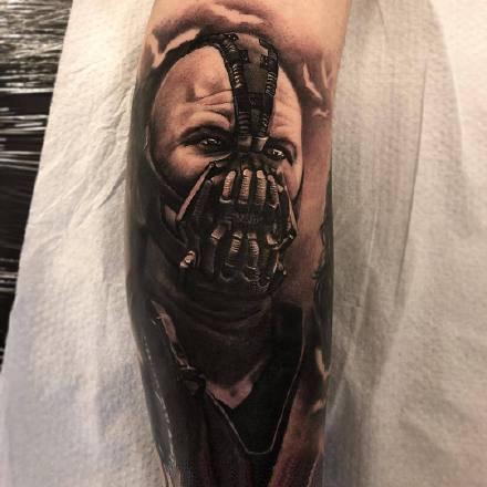 一组欧美写实黑灰纹身图案欣赏