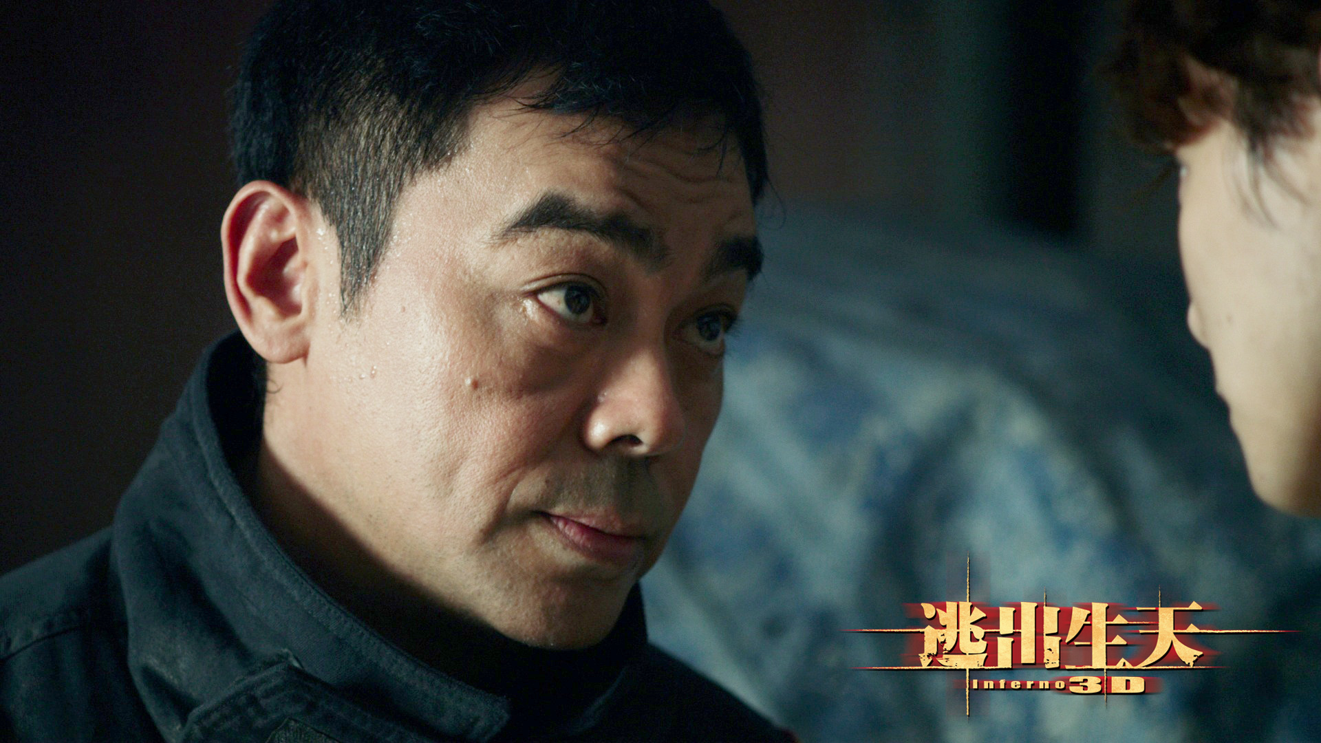 电影《逃出生天》刘青云角色剧照图片