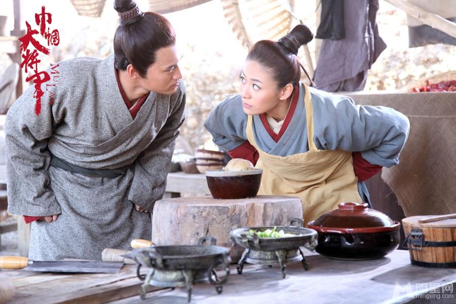 江若琳巾帼大将军女扮男装 军营搞怪历险