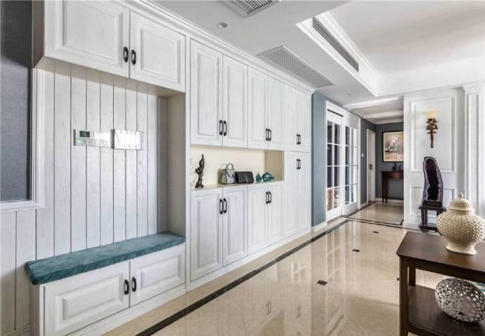120㎡现代简约美式风格家居装修设计