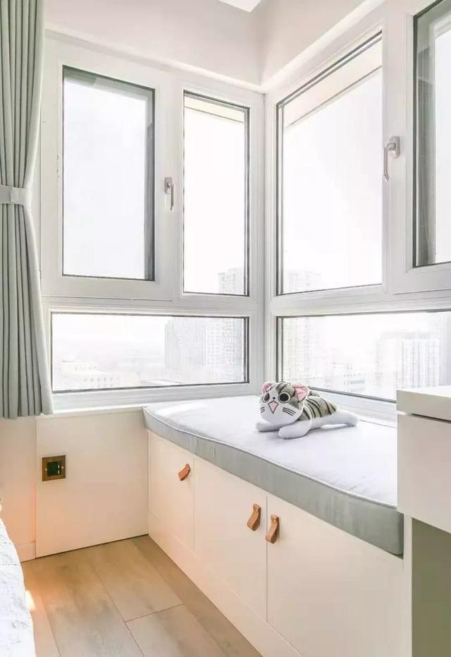 飘窗设计,舒适温馨的家居角落