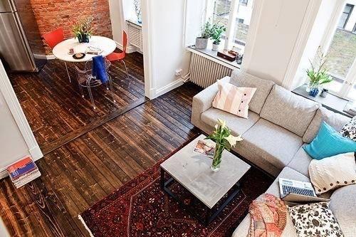 精致现代卧室餐厅厨房卫生间装修案例