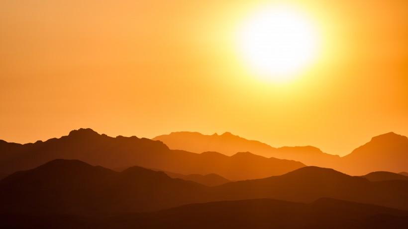 唯美的日出日落图片(11张)