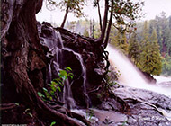 大自然瀑布风景高清壁纸