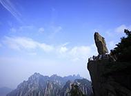 黄山奇峰怪石壮丽风景高清图片
