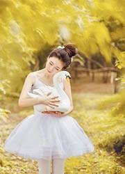 亚洲芭蕾舞美女绝美人体艺术写真