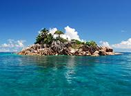 塞舌尔群岛美丽的自然风光图片