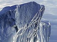 北极冰山风景高清图片