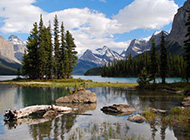 加拿大杰士伯国家公园风景图片
