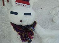 堆雪人大赛看谁有天赋搞笑图集