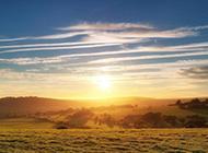 美丽日出风景图片优美怡人