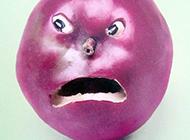 愤怒的水果表情图片