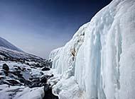 祁连山冰封三尺唯美冬日风景高清美图