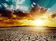干旱土地自然风景图片欣赏