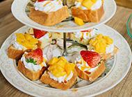 草莓芒果高清水果蛋糕图片