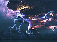 大自然奇观闪电图片素材