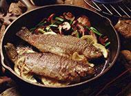 鲜美烧烤鱼图片肉质紧嫩