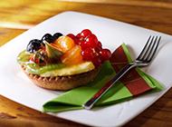 精致美味的水果甜点蛋糕美食