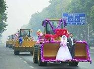 超好笑的农村恶搞婚礼图片