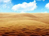 唯美意境沙漠美景图片壁纸