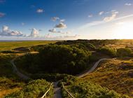 德国北海岸施皮克奥格岛风光壁纸
