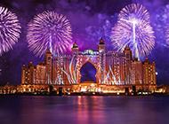迪拜旅游城市风光唯美高清壁纸