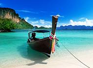 旅游圣地马来西亚热浪岛蔚蓝海景图片