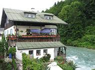 好看的阿尔卑斯山山中小镇风景图片大全