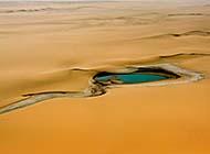 一望无际的撒哈拉沙漠风光高清大图