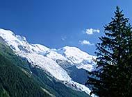 雪山皑皑雪景高清壁纸