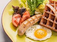 英式早餐美食摄影鲜肉蔬菜应有尽有