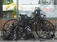 史上最牛锁自行车搞笑图