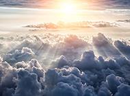 清晨日出飘渺壮阔云海风景图片赏析