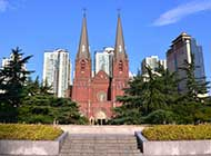 匿名网友上海徐家汇天主教堂摄影图片