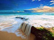 夏日小清新海景桌面壁纸