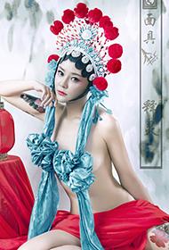 京剧花旦美女高清人体艺术图片