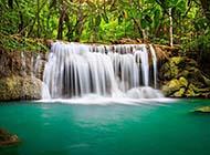 山涧瀑布唯美山林美景高清精美组图