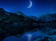 月亮风景图片大全大自然壁纸