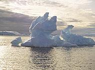南极冰山世界风景高清图片