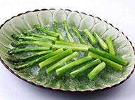 绿色蔬菜冰镇芦笋图片