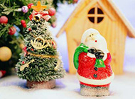 圣诞节可爱熊娃娃精美图集