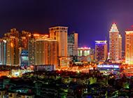 台北夜景图片壁纸灯光璀璨耀眼