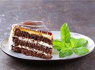 香浓美味的冻芝士巧克力蛋糕图片