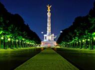 国外城市夜景图片迷离灿烂