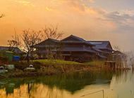 中国乡村秋天萧瑟美景图片壁纸